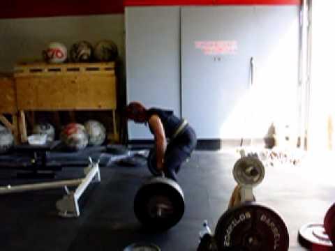 Trish Martin 425 Deadlift, 10/9/2010