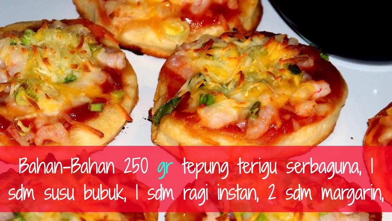 Resep Pizza Mini Tanpa Oven Untuk Dijual