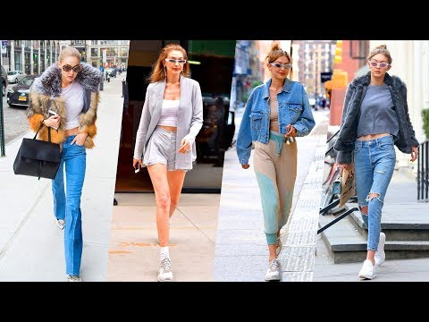 Gigi Hadid's Hairstyle, Casual Style, Street Style & Outfits - 2018