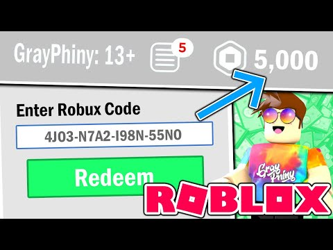 *SECRET* Code Gives FREE ROBUX! (Roblox 2020) thumbnail