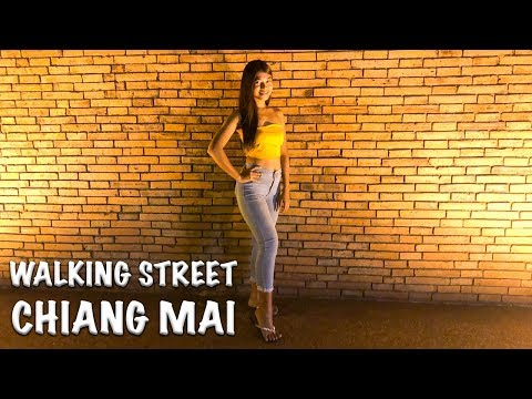 WALKING STREET CHIANG MAI THAILAND   TRADITIONAL THAI MASSAGE WITH HAPPY ENDING