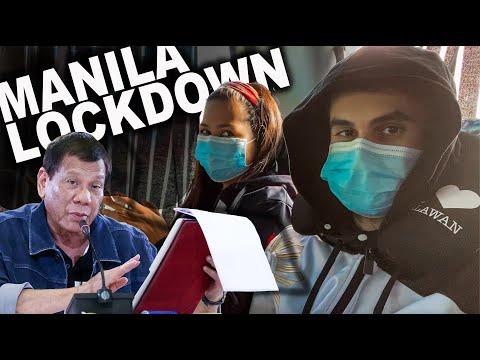 Lockdown in Metro Manila: President Duterte Update COVID-19, Philippines!