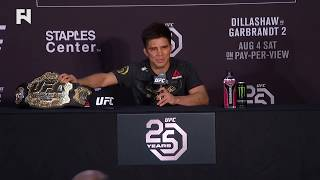 UFC 227: Henry Cejudo Post-Fight Press Conference -