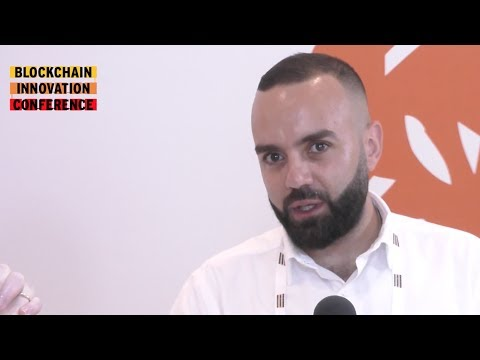 Interview with Toufic Alrjoula, Tykn | Blockchain Innovation Conference #BIC17
