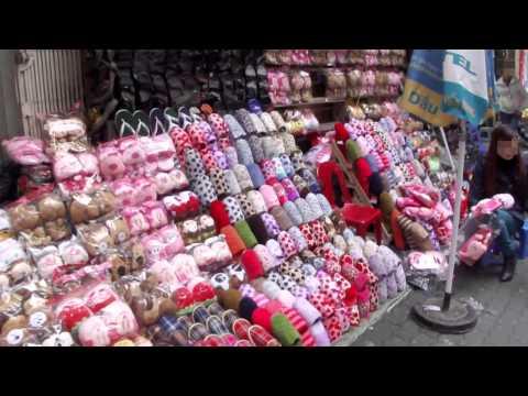 Shoe Shops in Hanoi Old Quarter, Vietnam (ベトナム ハノイ旧市街の靴屋)