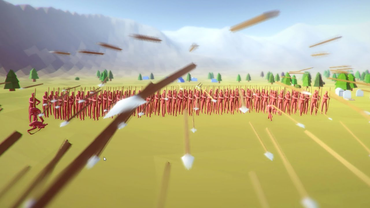 Totally Accurate Battle Simulator Play - Raining Arrows ...