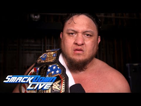 Samoa Joe questions Rey Mysterio's injury: SmackDown Exclusive, April 2, 2019