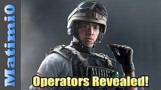 New Operators Revealed - Rainbow Six Siege thumbnail