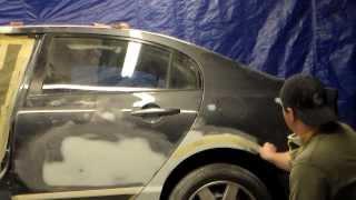 Как вывести ребро  на автомобильном крыле