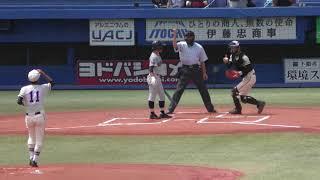 東東京大会決勝 二松学舎大付VS小山台 ⑥ プレイボール