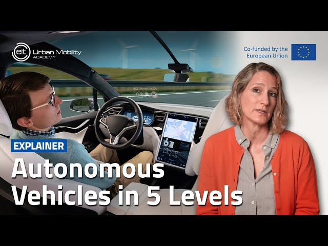 What are the 5 Levels of autonomous vehicles?