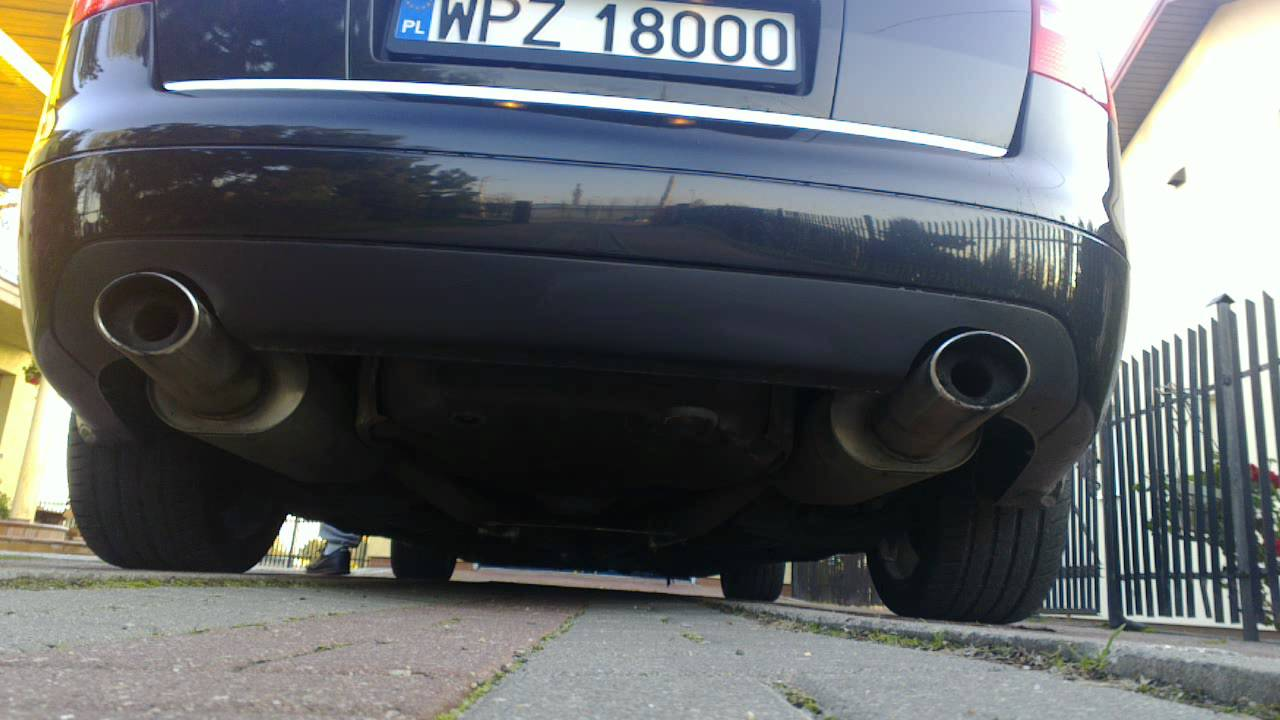 Audi S6 A6 C5 4 2 Quattro With Fox Exhaust Xpipe Decat Youtube