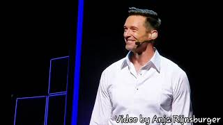 Hugh Jackman gets emotional by standing ovation ♡ - ZiggoDome Amsterdam on May 17th 2019