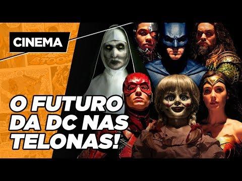 TUDO O QUE SABEMOS SOBRE OS FILMES DA DC COMICS!