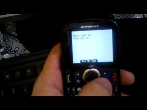 Dr.Celular - Como entrar em modo de teste - Motorola i475