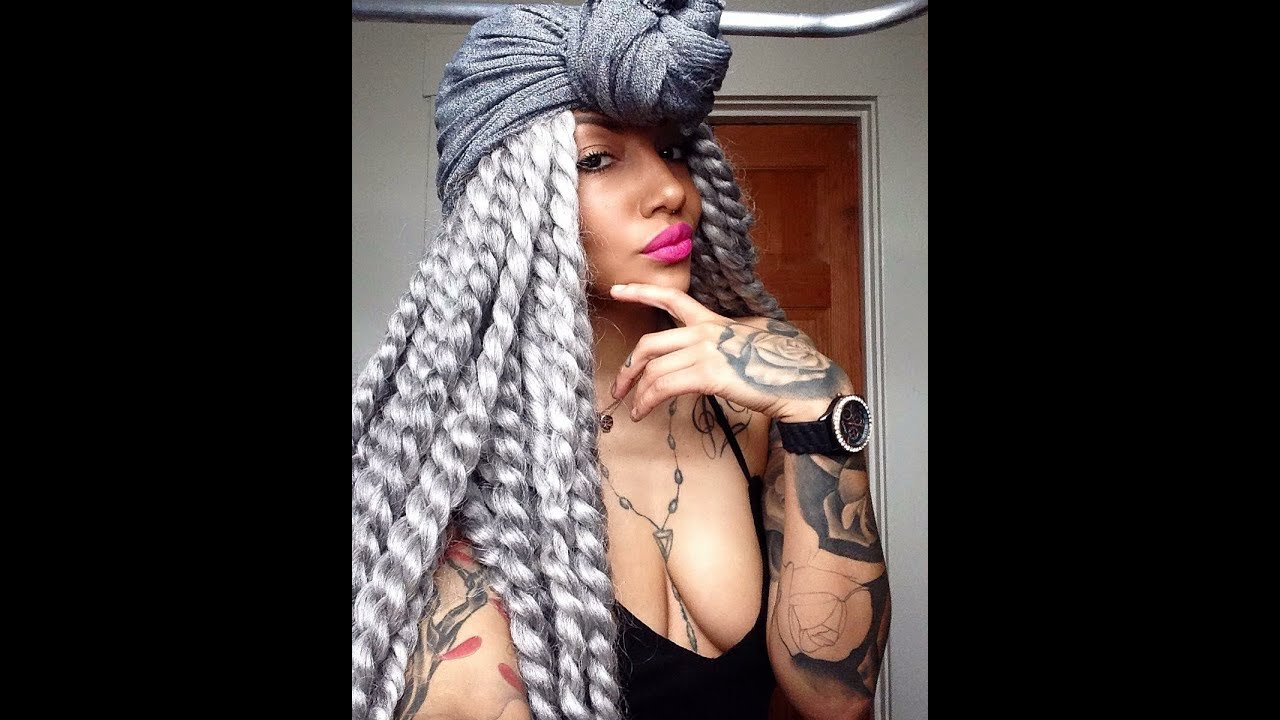 Jumbo Senegalese Twist Crochet braids How to style - YouTube