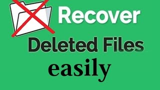How recover deleted file ( Photos, Audio, Videos, Softweres,zip ) from pc easily full tutorial