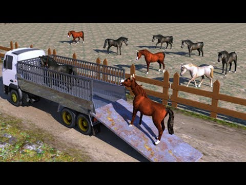 Horse Transport Cargo Truck 2017 Android GamePlay FHD