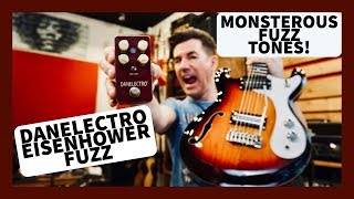 DANELECTRO EISENHOWER FUZZ demo by PETE THORN