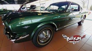 Ivy Green 1965 Mustang GT Fastback 2+2 Walk-Around
