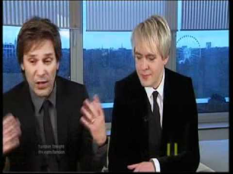 Duran Duran All You need is now ITV News Int (16/12/2010)