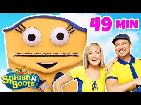 Splash'N Boots: Favorites Part 2 ! (HD) | Shows for Kids by Treehouse Direct