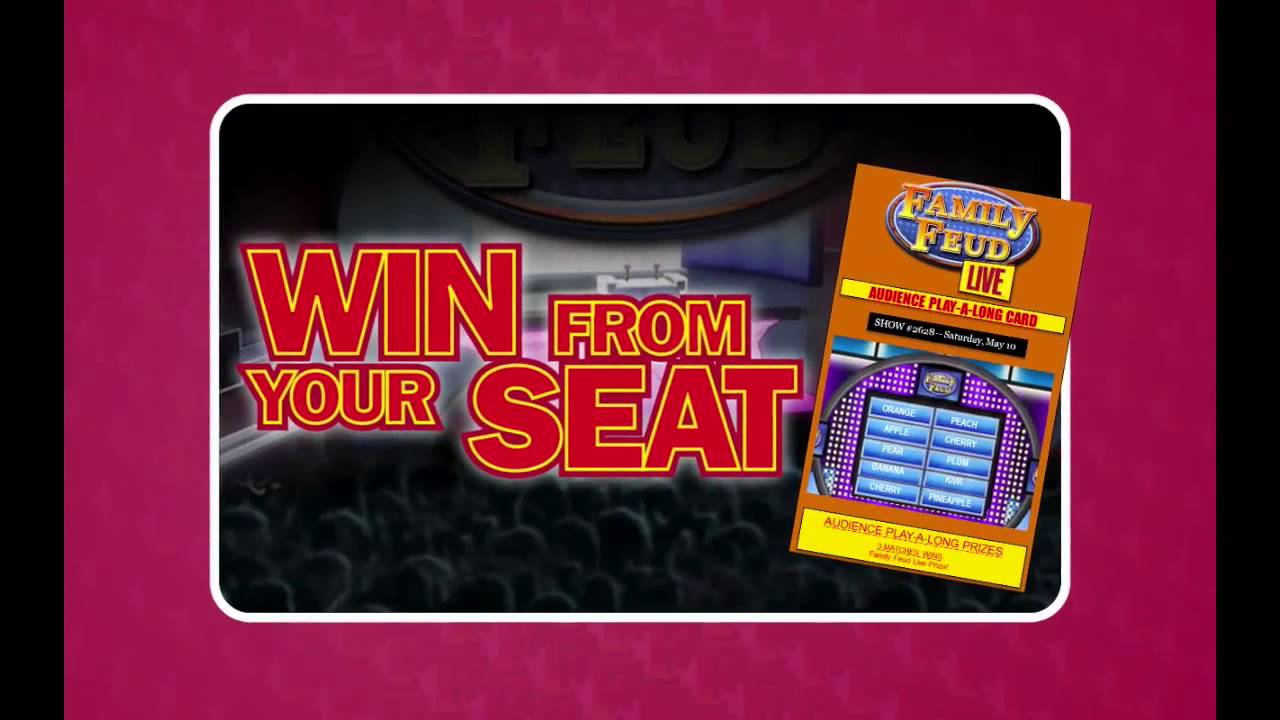 Family Feud Live! How it Works