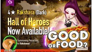SUMMONERS WAR : Ran the Dark Rakshasa Hall of Heroes Announced - Good or Food?