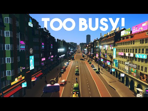 Cities Skylines :: Way too Busy!