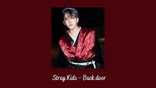 Stray Kids - Back Door {slowed + reverb}