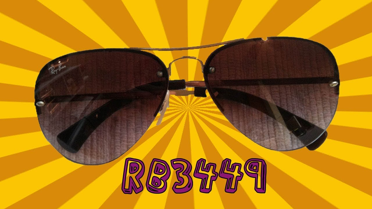 71f937e443 RayBan RB3449 Product Review - YouTube