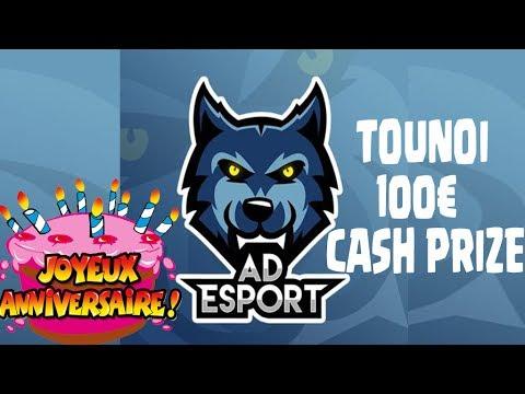 TOURNOI BRACKET ANNIVERSAIRE AD ESPORT 100€ CASH PRIZE (vous n'êtes pas pret pour la derniere game)