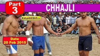 Chhajli (Sangrur) Kabaddi Tournament 20 Feb 2015  Part 3 by Kabaddi365.com