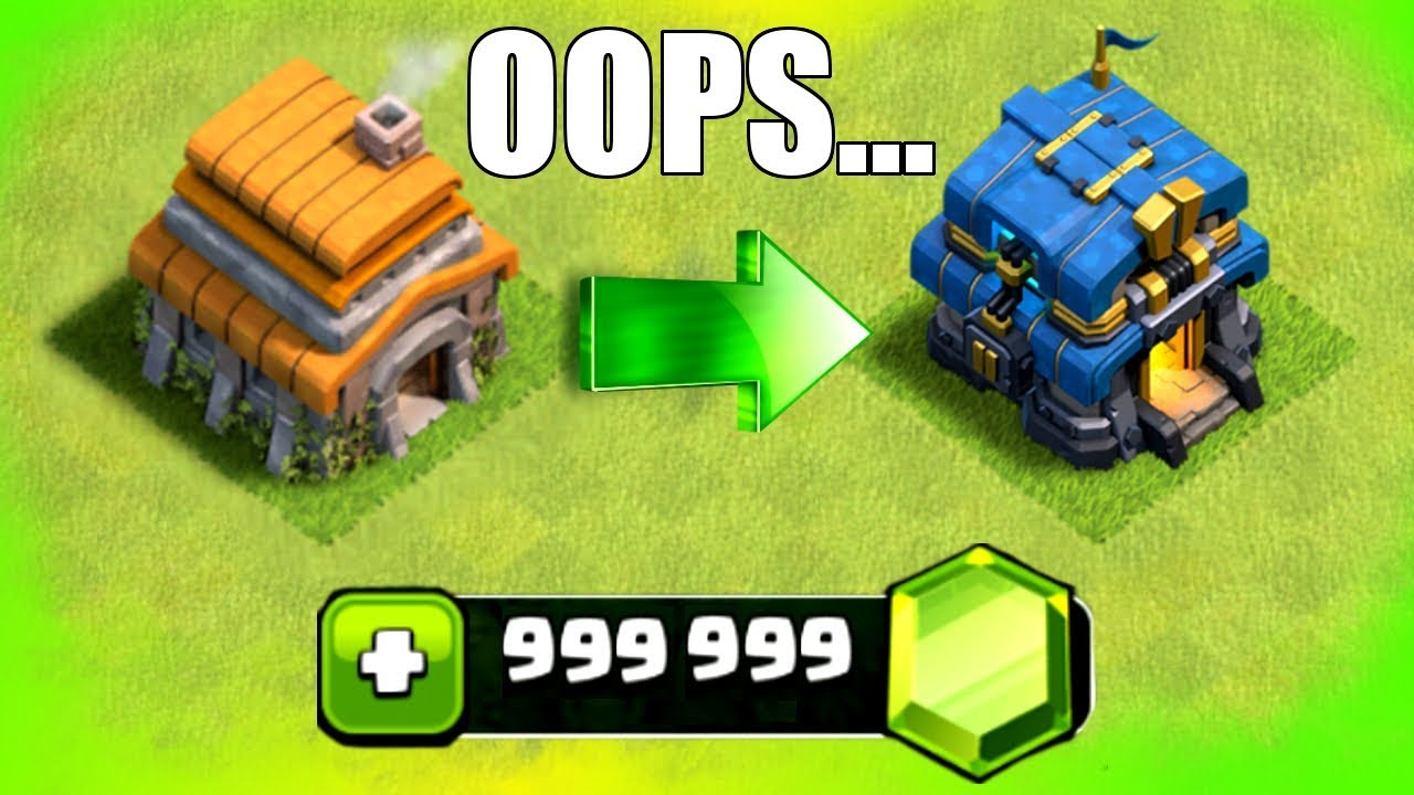 YOU WONT BELIEVE WHAT I DONE TO MY VILLAGE IN CLASH OF CLANS!