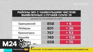 В Москве число заболевших COVID-19 за последние сутки увеличилось на 5 714 - Москва 24