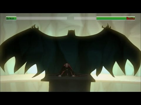 Batman vs Dracula...with healthbars