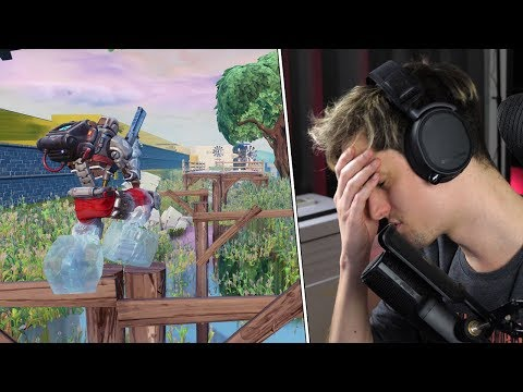 INTENSE FRUSTRATIE DOOR DEATHRUN PARKOUR - Fortnite Creative