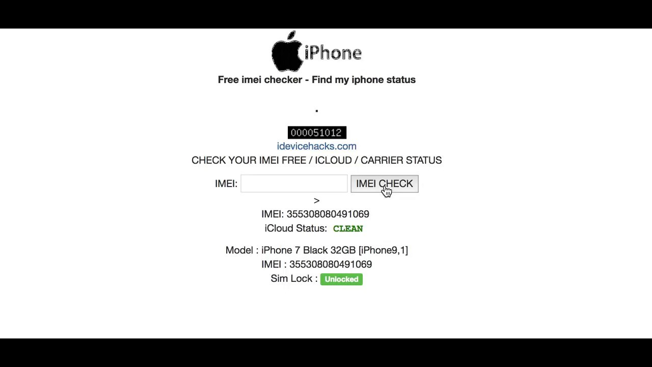 Find Iphone Carrier By Imei Free
