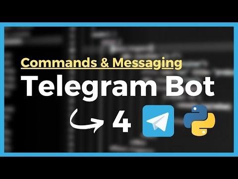 Commands & Messaging (Premium Telegram Bot Course)
