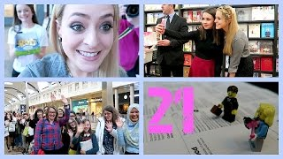 Signing Finale & The Inflatable Dachshund! Febvlog 21