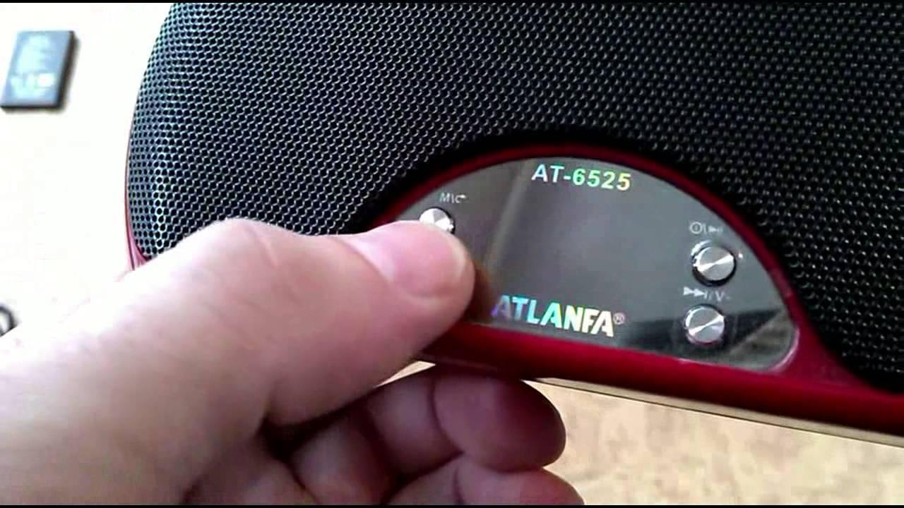 atlanfa at-6525 как заряжать