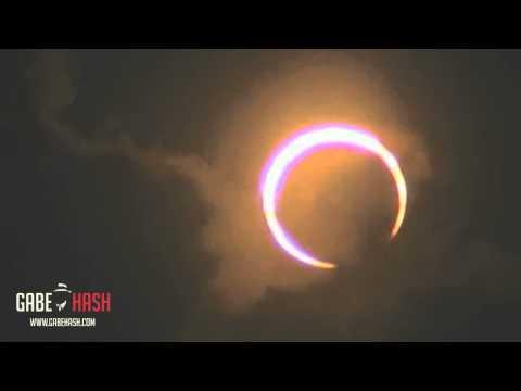 ESPECTACULARES IMAGENES ECLIPSE ANULAR DEL SOL 10 DE MAYO 2013