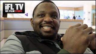 'I AM NO MUG' -DILLIAN WHYTE RAW ON RUIZ / POVETKIN, FURY TALKS 'S***', WILDER 'KNOCKED OUT' BY WLAD