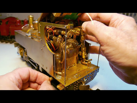 'Russell' Live Steam Model Locomotive Part 18