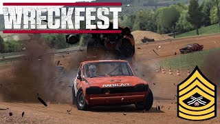 WRECKFEST GAMEPLAY PC | WINNING AT ALL COSTS