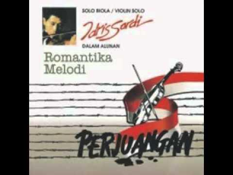 Idris Sardi Gugur Bunga - Indonesia Sad Violin Music - YouTube