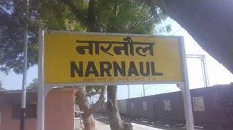 Railway Station Narnaul