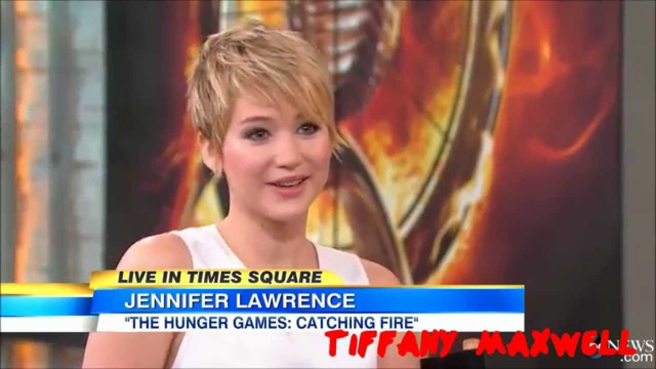 Jennifer Lawrence - Funny Moments (Part 17) - YouTube