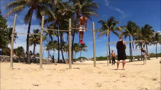 Miami Beach Calisthenics Sunday