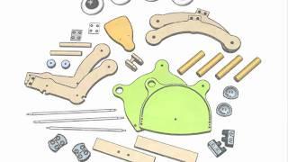 Mishi Design Grow Up Wood Toy @ Fab.de